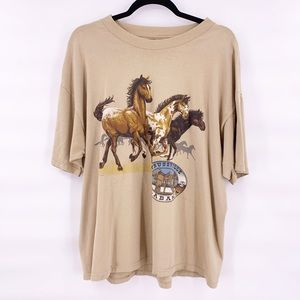 Vintage horse t shirt 90s Alabama trussville XL